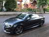 Audi cabriolet with low mileage