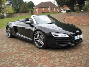 2013 Audi R8 Spyder V8 Quattro With Just 16,000 Miles From New For Sale (picture 1 of 12)