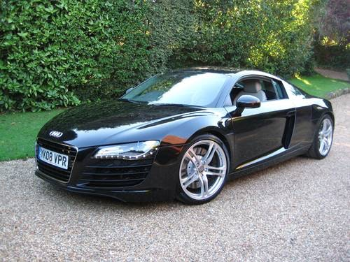 2008 Audi R8 Quattro 6 Speed Manual With Only 34,000 Miles For Sale (picture 1 of 6)