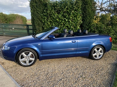 Picture of 2002 A4 3.0 sport cabriolet automatic For Sale