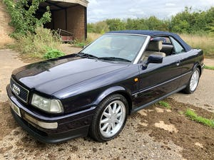 1997 Super smooth 2.8 v6 auto 's line' cabriolet SOLD (picture 1 of 5)