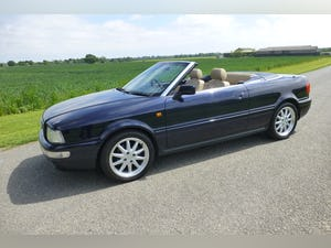 2000 Audi Cabriolet 2.8 Final Edition For Sale (picture 1 of 12)