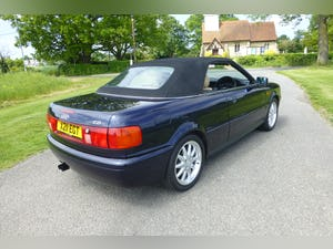 2000 Audi Cabriolet 2.8 Final Edition For Sale (picture 9 of 12)