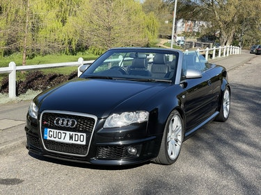 Picture of 2007 Audi RS4 Convertible For Sale
