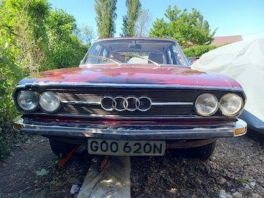 Picture of 1974 Audi 100 GL SALOON - manual for Restoration  For Sale