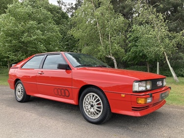 Picture of 1983 Audi UR Quattro 82/83 Early RHD, FSH, low miles, Exceptional For Sale