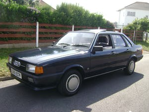 1985 Audi 80 1.8 GL Auto. B2. PAS, CL EW For Sale (picture 4 of 12)