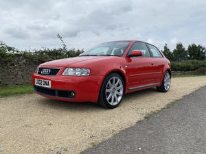 2002 Stunning rare low mileage s3 8l only 2 owners! Unique! For Sale (picture 1 of 12)