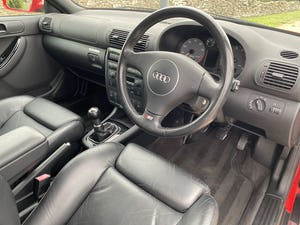 2002 Stunning rare low mileage s3 8l only 2 owners! Unique! For Sale (picture 11 of 12)