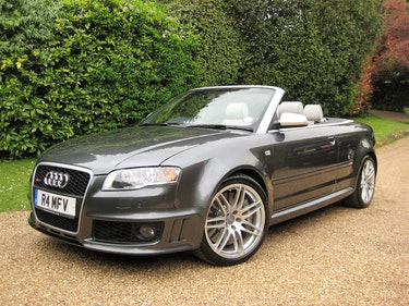 Picture of 2006 Audi RS4 Quattro Cabriolet With Only 22,000 Miles From New For Sale