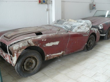 Picture of 1958 AUSTIN HEALEY 100/6 BN 6 ROADSTER For Sale