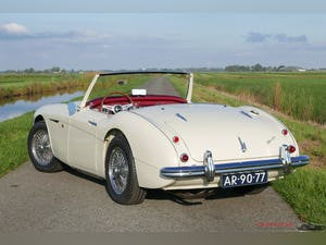 1959 Austin Healey 100-6 Two-seater  with Matching numbers For Sale (picture 2 of 12)