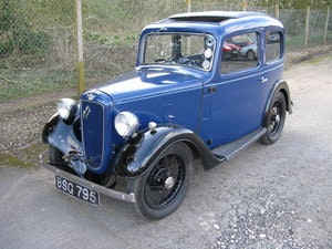 Picture of 1937 Austin 7 Ruby Mk2 with sunroof SOLD