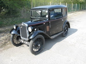 Picture of 1934 Austin 7 RP Saloon, very original. SOLD