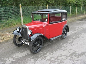 Picture of 1932 Austin 7 RN Box Saloon, with sunroof. SOLD