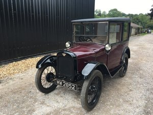 Picture of 1928 Austin Seven 'R' Type 'Top Hat Saloon' - fully restored SOLD