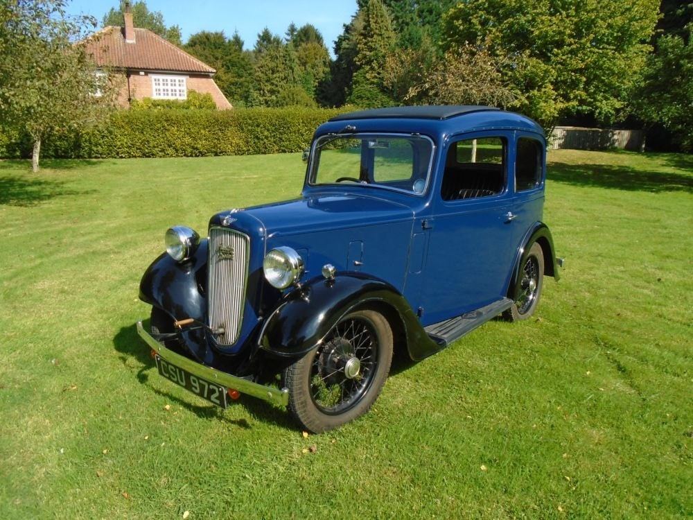 1936 Austin Seven Ruby Mark II De-Luxe SOLD (picture 1 of 6)