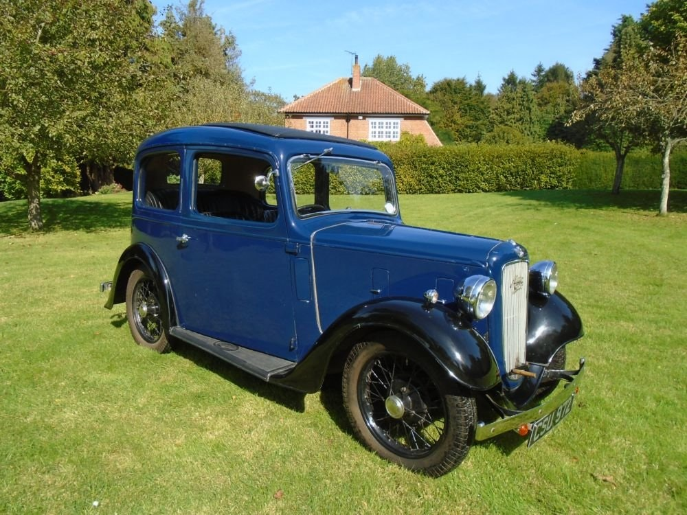 1936 Austin Seven Ruby Mark II De-Luxe SOLD (picture 2 of 6)