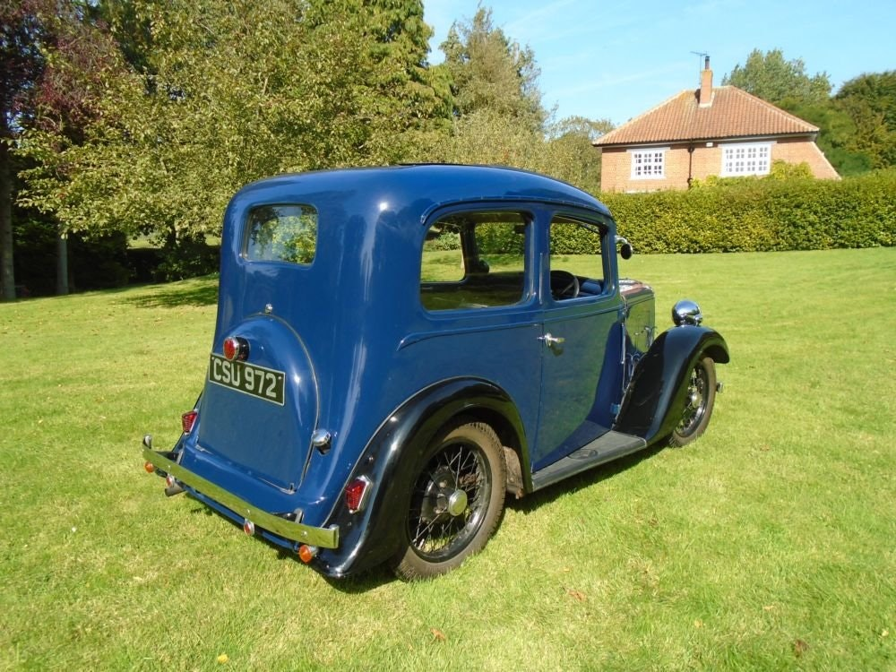 1936 Austin Seven Ruby Mark II De-Luxe SOLD (picture 3 of 6)