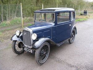 Picture of 1932 Austin 7 RN Saloon, for restoration SOLD