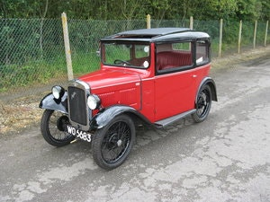 Picture of 1932 Austin 7 RN saloon, with sunroof SOLD