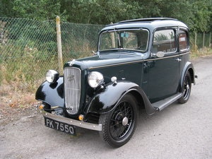 Picture of 1936 Austin 7 Ruby Mk2 with sunroof SOLD