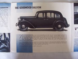 AUSTIN FOURTEEN GOODWOOD 1936 SALES BROCHURE For Sale (picture 4 of 6)