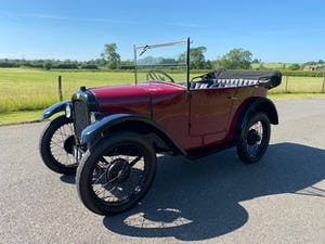 1929 Austin Seven Chummy in Maroon For Sale (picture 1 of 12)