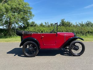 1929 Austin Seven Chummy in Maroon For Sale (picture 3 of 12)
