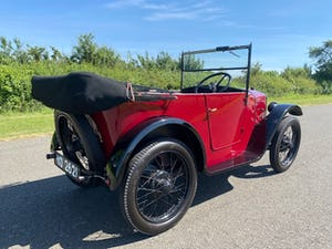 1929 Austin Seven Chummy in Maroon For Sale (picture 4 of 12)