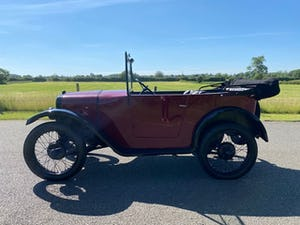 1929 Austin Seven Chummy in Maroon For Sale (picture 5 of 12)