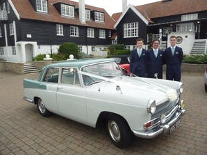 1959 CHAUFFEURED AUSTIN A55 CAMBRIDGE WEDDING CAR For Hire (picture 4 of 5)