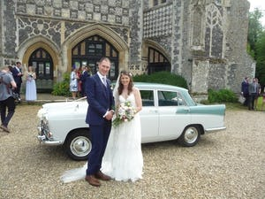1959 CHAUFFEURED AUSTIN A55 CAMBRIDGE WEDDING CAR For Hire (picture 5 of 5)