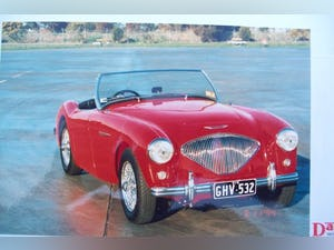 Austin Healey 100/4 1955 RHD  late BN1 For Sale (picture 1 of 10)