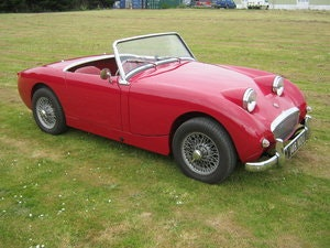 Picture of 1959 AUSTIN HEALEY FROGEYE SPRITE. CHERRY RED, WIRES, 1275CC SOLD