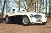 Immaculate Healey 100 Race Car. Rebuilt With New Chassis.
