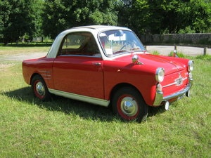 Picture of 1958 AUTOBIANCHI BIANCHINA TRASFORMABILE 'S'. SUICIDE DOORS SOLD