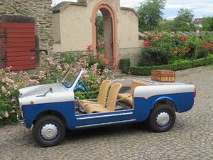 Autobianchi Bianchina Jolly model 1969 For Sale (picture 1 of 6)