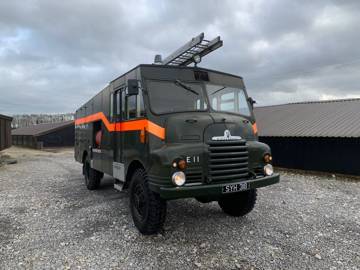 1957 Bedford® Green Goddess Fire Engine *Low Mileage* (SYH) For Sale (picture 1 of 6)
