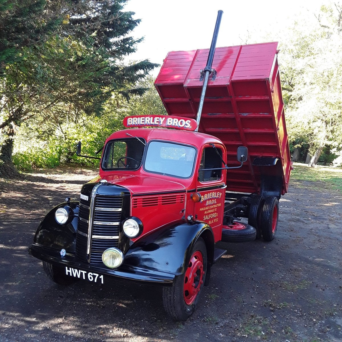 1948 Bedford O Type Tipper For Sale (picture 1 of 6)