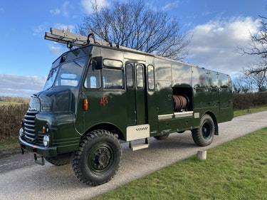 Picture of 1956 Green Goddess Fire Engine, Bedford RLHZ For Sale