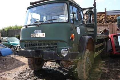Picture of 1991 Bedford MJ TK 4x4 Hiab crane For Sale