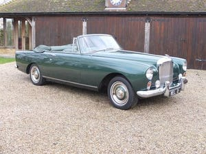 1961 Bentley S2 Continental drophead coupe For Sale (picture 1 of 20)