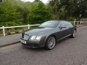 Picture of 2010 Bentley Continental GT Speed SOLD