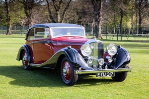 Picture of 1938 Bentley 4 1/4 Litre Sports Coupe by Vanden Plas SOLD