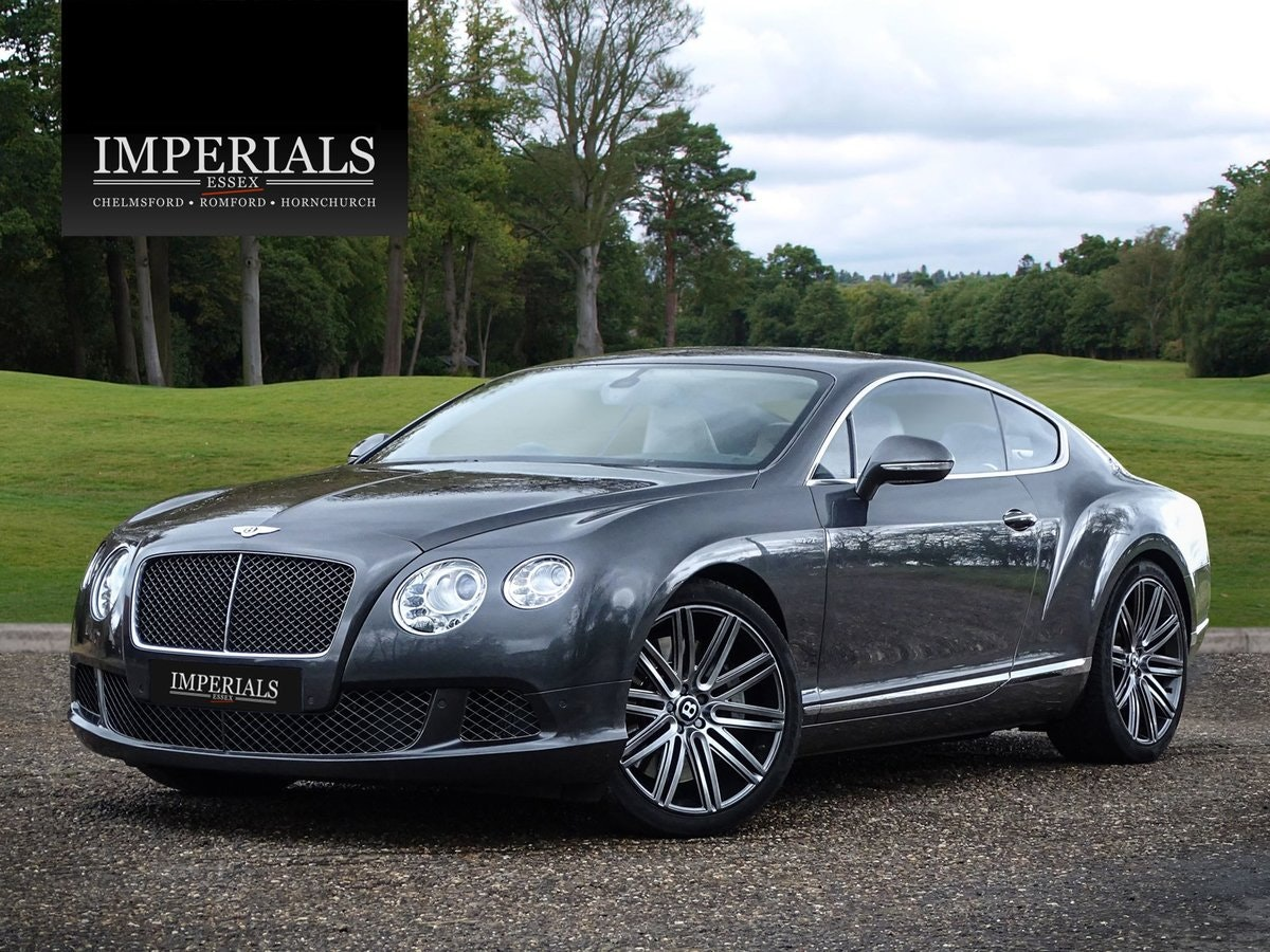 2013 Bentley CONTINENTAL GT SPEED For Sale (picture 1 of 20)