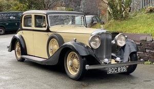 Picture of 1935 Bentley 3½ Litre Hooper Sports Saloon B86EF For Sale