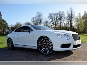 2013 Bentley Continental GT V8 S LOOK coupe 3998 auto Petrol For Sale (picture 1 of 12)