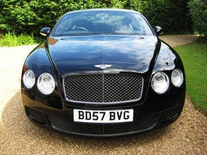2007 Bentley Continental GT Speed 08MY Just Serviced By Bentley For Sale (picture 5 of 6)
