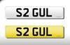 'S2 GUL' Cherished Number On Retention